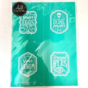Chalk Couture Transfer HALLOWEEN APOTHECARY LABELS